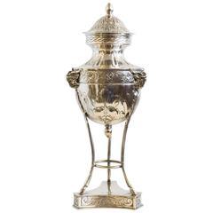 Decorative French Sugar Bowl or Amphore, circa 1870