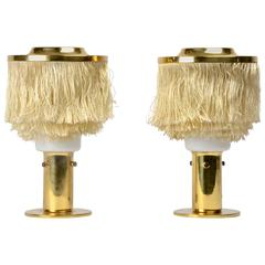 A Pair of Table Lamps by Hans-Agne Jakobsson, Markaryd, 1960s