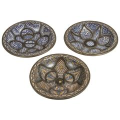 Large Decorative Ceramic Plates from Fez