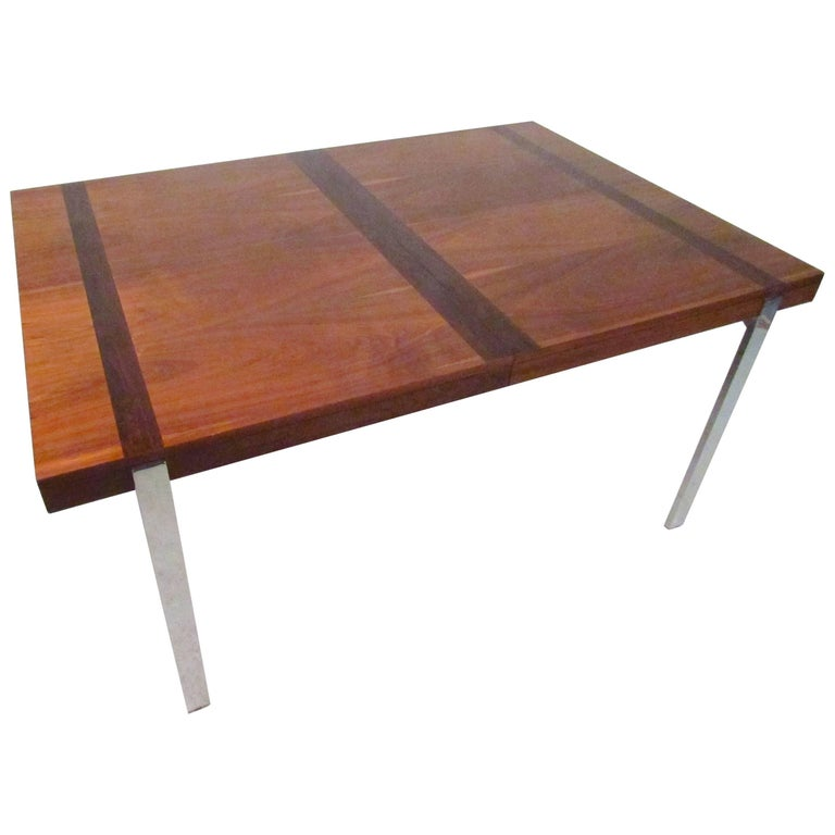 Vintage Modern Dining Table by Lane For Sale