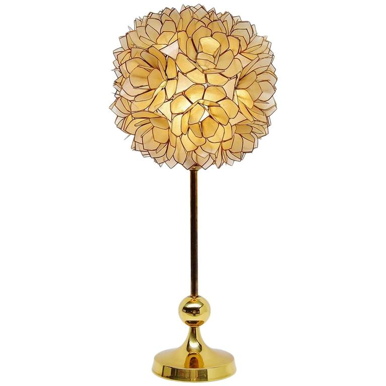 this mother of pearl table lamp belgium 1970 is no longer available. Black Bedroom Furniture Sets. Home Design Ideas