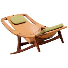 Arne F. Tidemand Ruud Holmenkollen Lounge Chair Norcraft, 1959