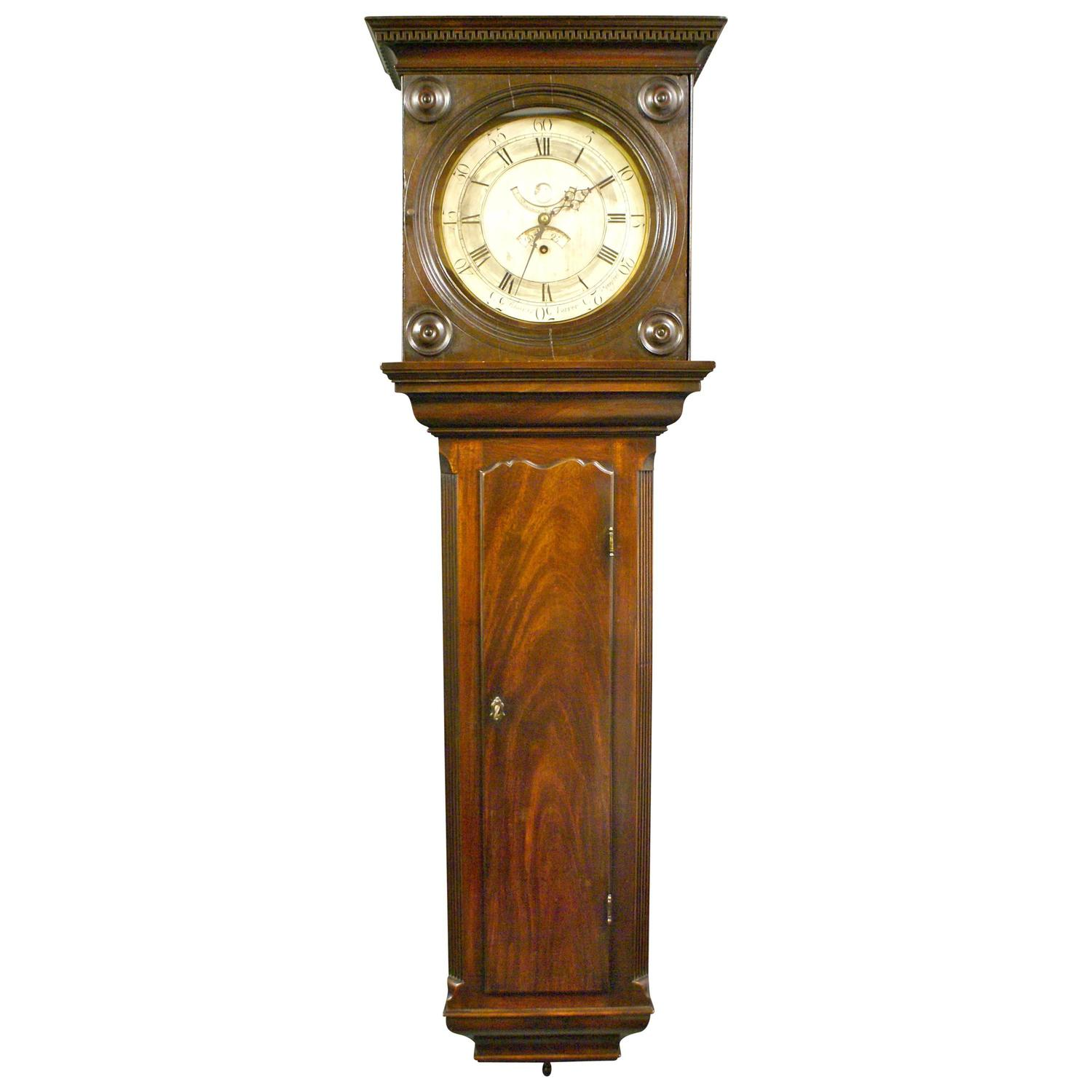 A rare Tavern clock by Charles Farrer. For Sale at 1stdibs