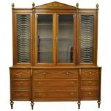 Mid-20th Century French Louis XVI Style Display Cabinet or Bookcase