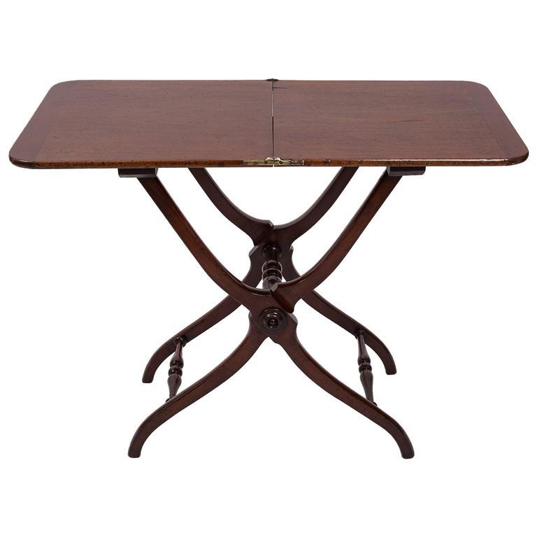 19th Century Mahogany Side Table, England, circa 1860
