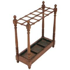 19th Century Oak Umbrella Stand, Scotland, circa 1870