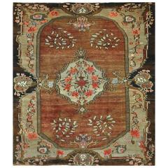 Vintage Large Room Size Turkish Rug
