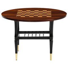 Italian Chess Side Table