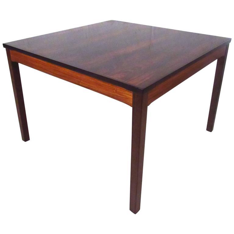 Bruksbo Rosewood Coffee Table by Haug Snekkeri