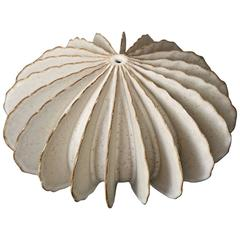 Bill Hudnut Matte White Ceramic Piece
