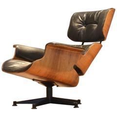 1958 George Mulhauser Swivel Easy Chair for Plycraft