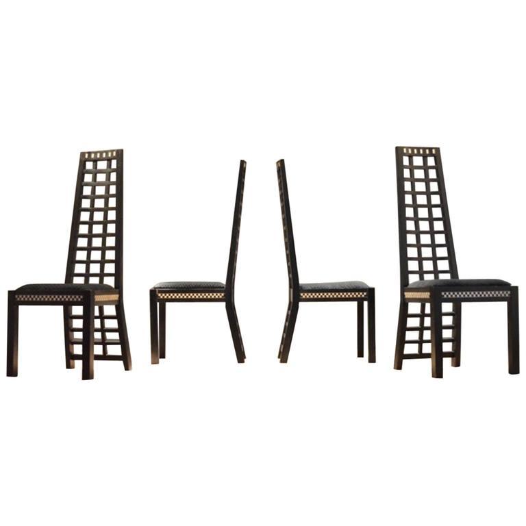 charles rennie mackintosh hill house chairs at 1stdibs