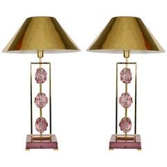 Pair of Lamps Designed by Regis Royant