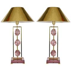 Pair of Lamps Designed by Regis Royant
