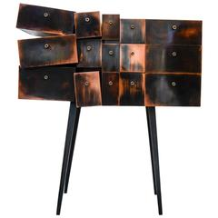 Deconstructed Copper Cabinet