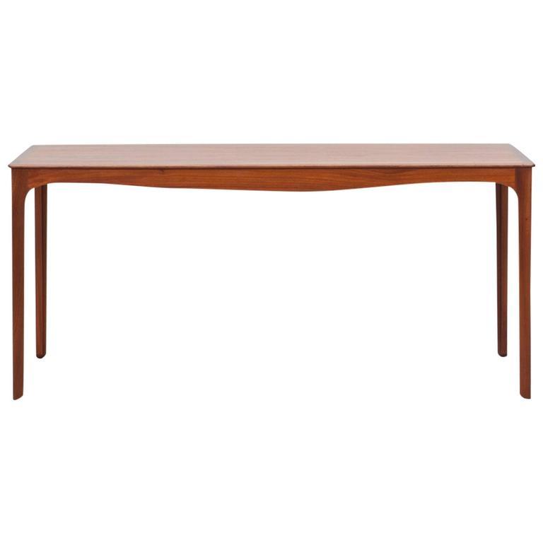 Ole Wanscher Side Table in Teak