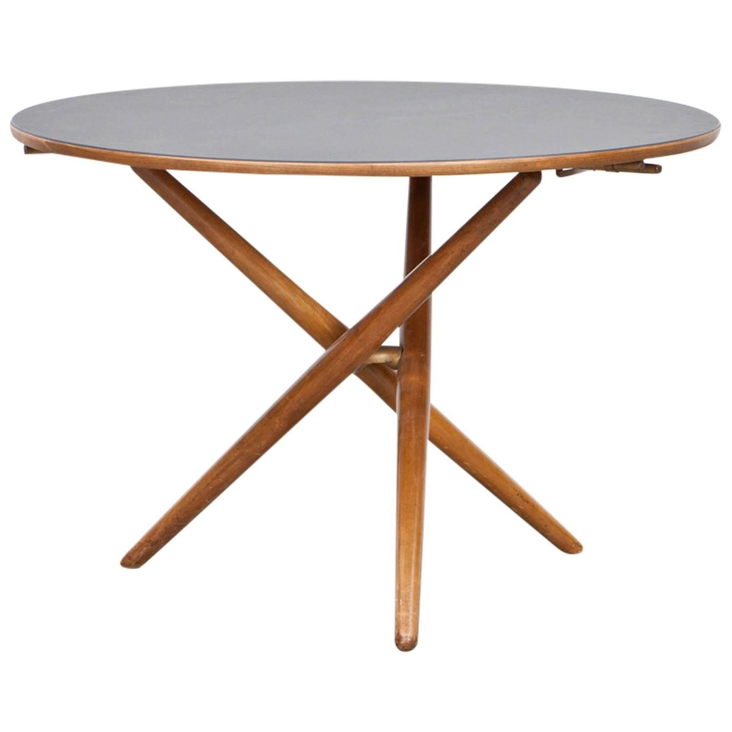 Eat and tea table designed by j rg bally b at 1stdibs for Coffee tables you can eat on