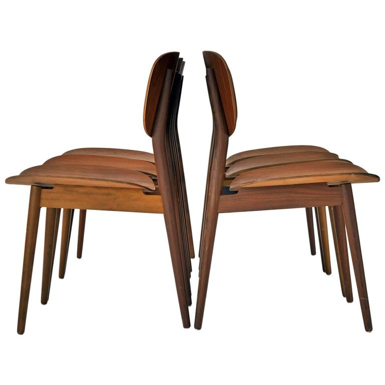 Georg Leowald For Wilkhahn Dining Chairs At 1stdibs