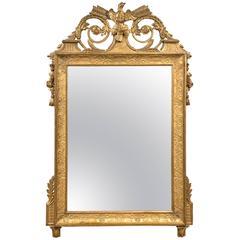 French Gilt Mirror, circa 1800
