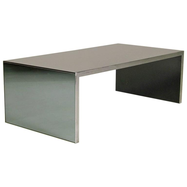 "Low Table ""Four Corners"" by Nanda Vigo, Driade, Italy, 1971"