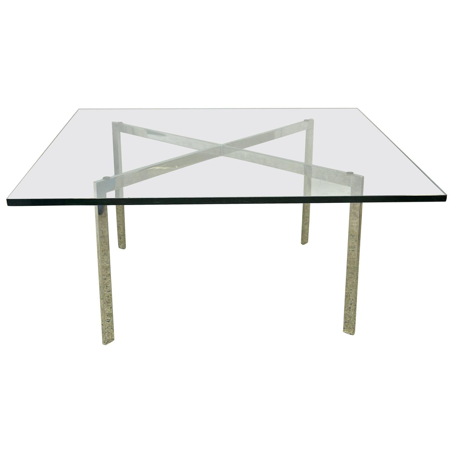 mies van der rohe barcelona table for knoll for sale at
