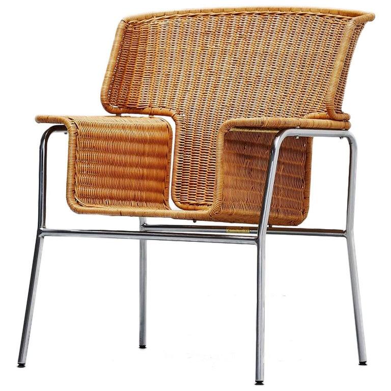 Dirk van Sliedrecht armchair Rohe Noordwolde Holland 1969 For Sale
