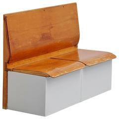 Piet Zwart Bruynzeel laundry bench Holland 1950
