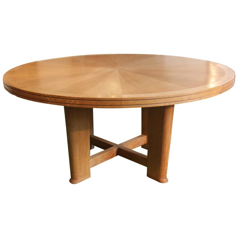 this 1940s 50s french round dining table is no longer available