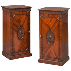 Pair of Mahogany Side Cupboards of the Georgian Period
