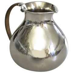 Hans Hansen Sterling Silver Pitcher from 1932