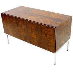 Small Rosewood Sideboard by Dieter Wäckerlin, Behr 1958