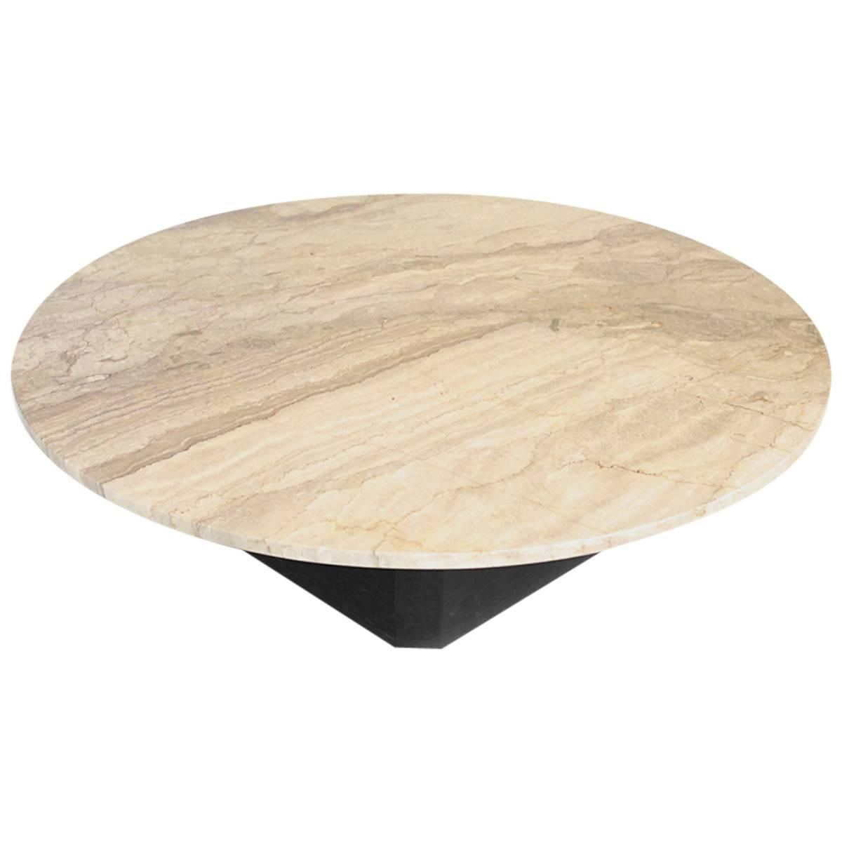 Extra Large Stone Coffee Table: LARGE MARBLE COFFEE Table At 1stdibs