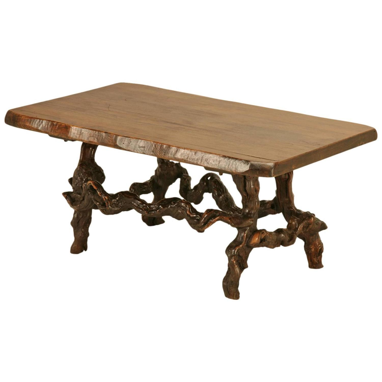 Wine Country Coffee Table At 1stdibs