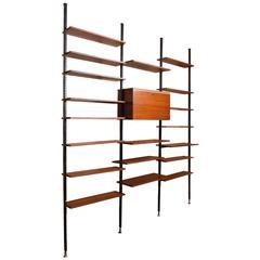 Danisch Modular Bookcase Royal System Wall Unit