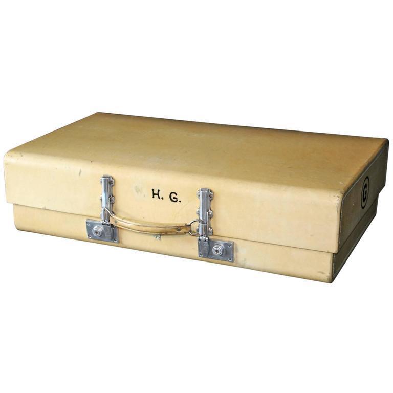 1930s Revelation Vellum Suitcase