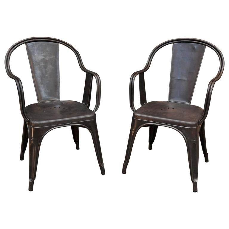 Vintage Metal Dining Chair Best Leather Tan For