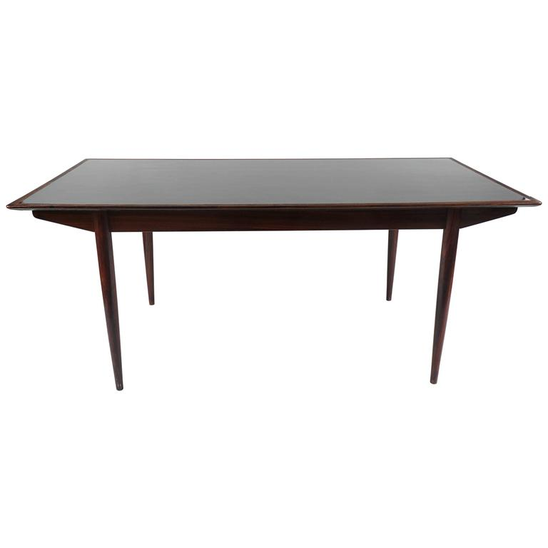 Mid-20th Century Rosewood Dining Room Table