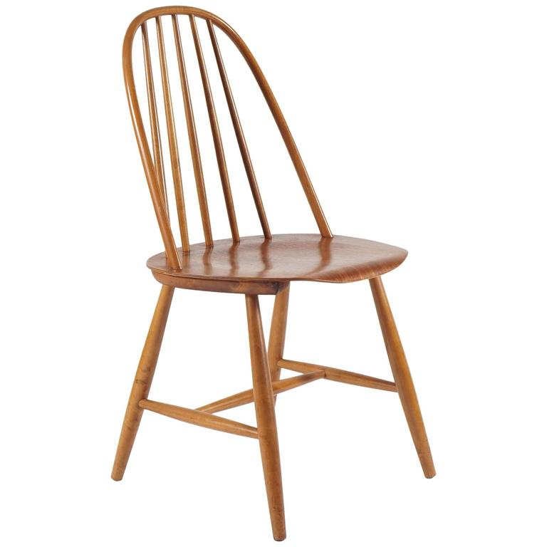 swedish mid century side chair for sale at 1stdibs. Black Bedroom Furniture Sets. Home Design Ideas