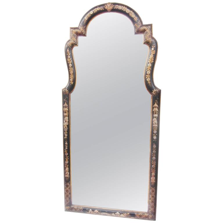 Labarge Chinoiserie Framed Mirror