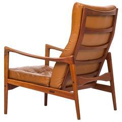 Ib Kofod-Larsen Easy Chair Model Örenäs by OPE in Sweden