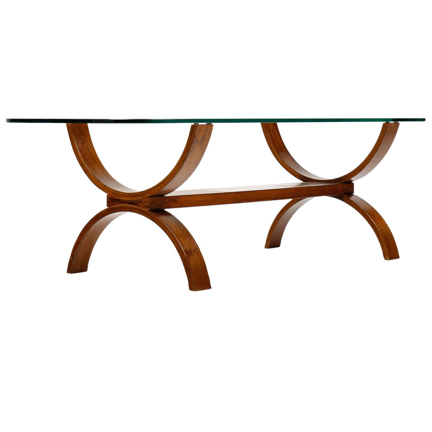 Midcentury rosewood coffee table at 1stdibs geotapseo Gallery
