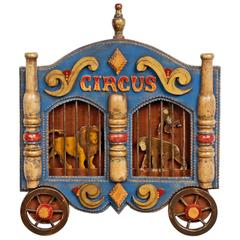 Tramp Art 'Circus Wagon' Frame by Angie Dow