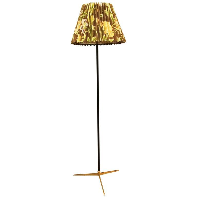 "J.T. Kalmar ""Micheline"" Floor Lamp Model 2092"
