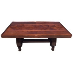 French Art Deco Dining Table by Gaston Poisson