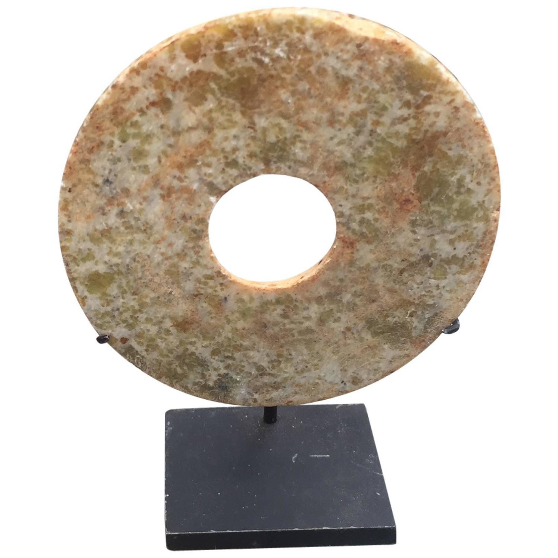 Ancient China, Qi Jia Culture, Early Bronze Age, China Jade Bi Disc ...