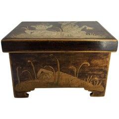 Aesthetic Movement Trinket Box, circa 1900