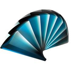 """""""Blue Fan"""" by Laszlo Lukacsi"""