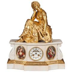 Antique Mantle Clock in the Louis XVI Manner