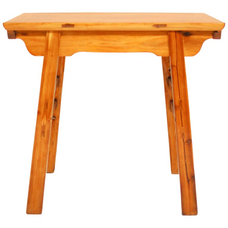 Chinese Carved Wine Entry Table