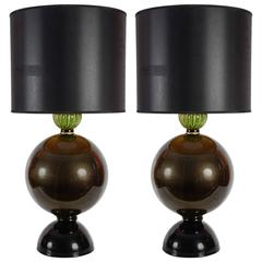 Murano Glass Ball Lamps